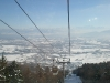 Views from chairlift in Crozet