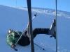 2011-01-22 SCC #3 Skiing in Les Contamines