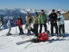 My skiing group