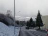 On my way to CERN office - winter